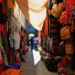 Market Stalls In The Alcaiceria, Granada