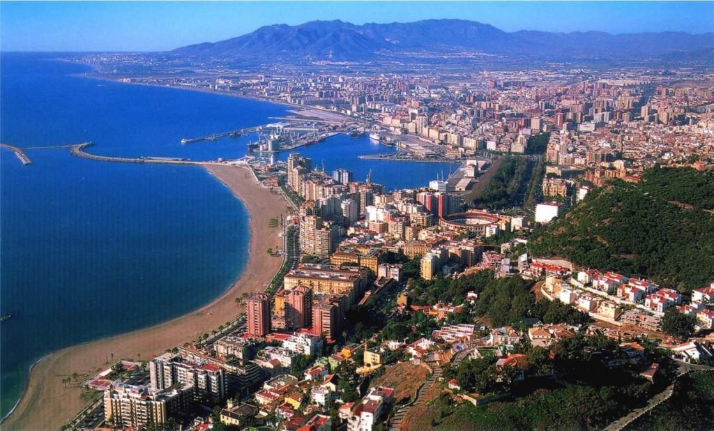 View of Malaga City