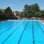 Swimming Pool In The Fuentenueva Campus of Granada University