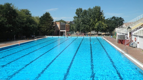 Swimming Pool In The Fuentenueva Campus of Granada University